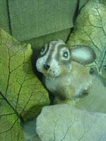 Заяц (сувенирная керамика из шамота)