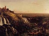 Каскателли, Тиволи, вид в на Рим (Вид на Рим с Тиволи)