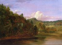Пейзаж (Американское озеро летом)