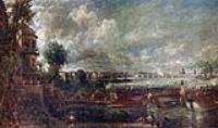 Открытие Моста Ватерлоо. Вид с  лестницы Уайтхолла