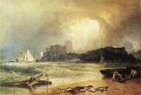 Пемброк Каселт, Южный Уэльс, Гром, Приближение бури