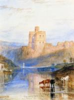 Замок Норхэм  на реке Твиид