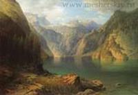 Горное озеро. 1865