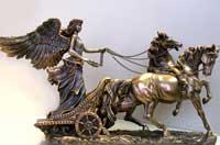 Ника - богиня победы (статуэтка)