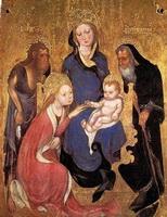 Обручение св. Екатерины (М. да Безоццо)