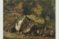 Скалы (эскиз)