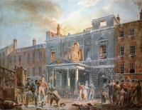 Пантеон, утро после пожара