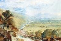 Вид                    на Инглбороу с Террасы Замка Хорнби
