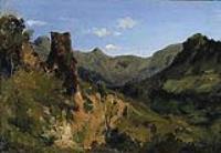 Долина в горах Оверна