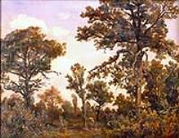 Большой дуб, Лес Фонтенбло