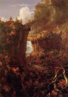 Переход над водопадом на реке Генеси