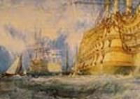 Прекрасный корабль в порту