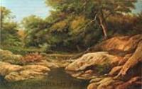 Горный ручей. 1865