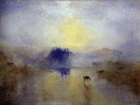 Замок Норхэм, Восход солнца.