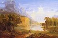 Эскиз для картины Паломник в пути  по свету