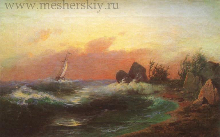 Морскойпейзаж. 1870