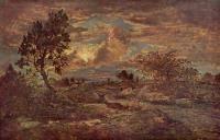 Закат в Арбонне