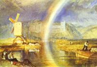 Замок Арундел, с радугой