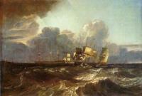 Корабли, заходящте на якорную стоянку (Морской фрагмент, Эгремонт)