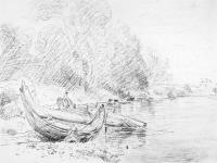 Вид на реку Северн в Ворчестере