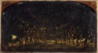 Каштановая аллея замка Шуз