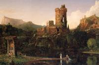 Ландшафтная композиция. Итальянский пейзаж