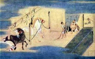 Легенда об основании храма Сейко-дзи (Тоса Мицунобу)