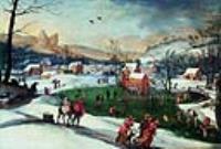 Зимний пейзаж в Мостарте
