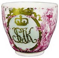Чашка подарочная (И. Кёстнер, 1780 г.)