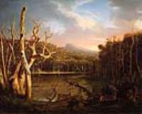 Озеро с мертвыми деревьями (Кэтскилл)