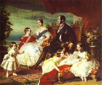 Королевская семья (Франц Винтерхальтер)