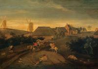 Фламандская деревня