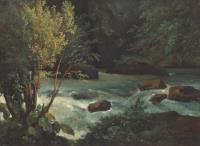Поток в Оверне вблизи Рояа