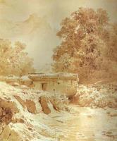 Водяная мельница на горной рекр. Крым