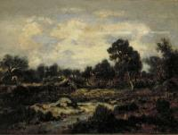 Горный пейзаж вблизи Фонтенбло