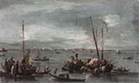Вид с Новой Крепости на Венецианскую лагуну в направлении Мурано
