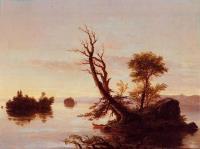 Вид американского озера