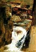 Водопад в Тьере