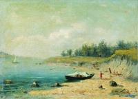 На берегу Волги