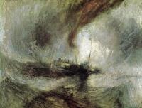 Лодка в шторм на входе в гавань, подающая сигналы на мелководье и направляемая по каналу