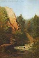 Горная река. 1871