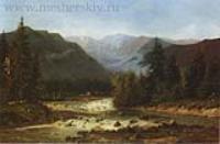 Швейцарский пейзаж.