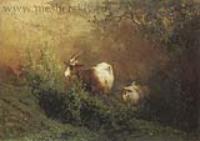 Пейзаж с козами. 1869