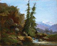 Горный пейзаж, Вале, Швейцария