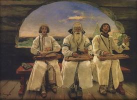 Гусляры (В.М. Васнецов, 1899 г.)