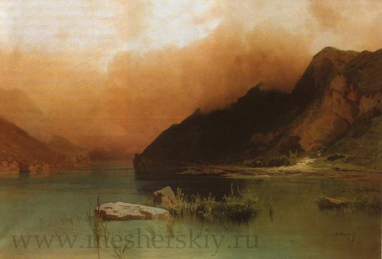 Озеро Эзель-Ам в Чечне