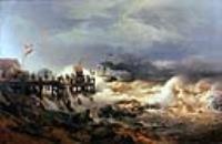 Шторм на голландском берегу