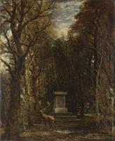 Кенотаф в память сэра Джошуа Рейнольдса, возведенный в поместье Колеортон Холл, Лейчестершир, последним лордом Джорджем Бомонтом, пирс Бт.Чейн, Брайтон