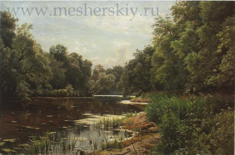 1893 Заросший пруд