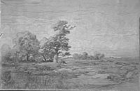 Пейзаж  (зарисовка)
